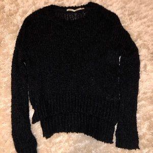 Cozy navy blue sweater